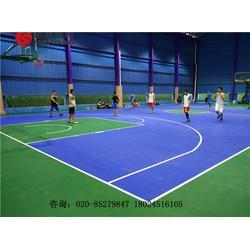 新国标硅PU篮球场专业施工建设及球场材料生产厂家图片