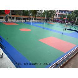 篮球场建设及环保篮球场专业施工建设厂家图片