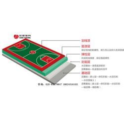 篮球场建设,新国标塑胶篮球场专业施工建设厂家图片