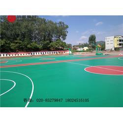 篮球场建设及塑胶硅PU篮球场建设厂家图片