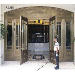为您推荐沈阳华臣装饰品质好的金属门,不锈钢门供货商图片