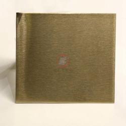 香槟金色雪花砂不锈钢板 不锈钢电镀 可来样加工图片
