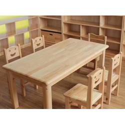 幼儿园木质桌椅-陕西热卖西安幼儿园桌椅出售图片