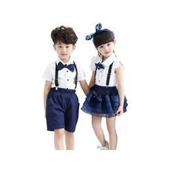 小学生夏季校服供应-报价合理的小学生夏季校服图片