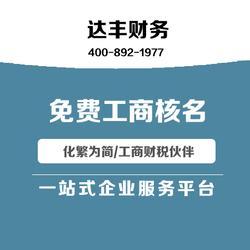 公司核名申请表-达丰财务 10年品牌-高新区公司核名图片