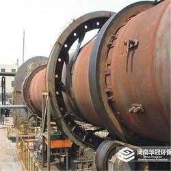 华冠环保回转窑铝矾土煅烧生产线全套设备图片