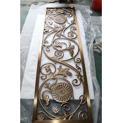 不锈钢屏风生产厂家-不锈钢屏风-东弘钢匠不锈钢花格(查看)图片