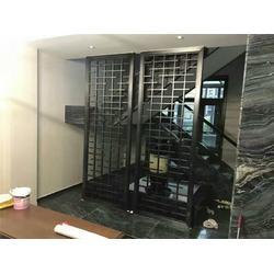东弘钢匠不锈钢酒柜 室内不锈钢隔断-林芝地区不锈钢隔断图片