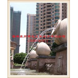 惠安石雕喷水动物 海马 海豚 天鹅等园林景观喷水雕塑图片