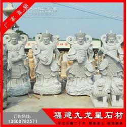 石雕四大天王 神界四大护法神像 佛教四大金刚图片