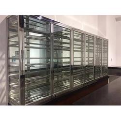 不锈钢书柜酒柜直销-上海提供报价合理的书柜酒柜图片