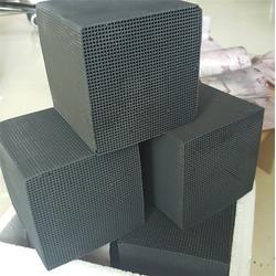 蜂窝活性炭厂家-蜂窝活性炭压块-蜂窝活性炭