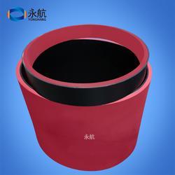 供应整桶红胶平面牵引机皮带 平皮带式牵引机皮带图片