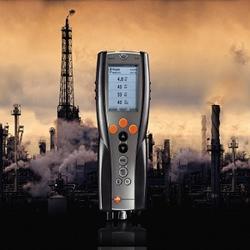 10种内置燃料测试气体的德国德图testo340烟气分析仪图片