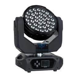 37颗LED染色摇头灯LED全彩打圈舞台光束灯图片