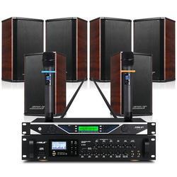 会议音响套装组合专业会议室培训设备背景音乐系统音响功放话筒图片
