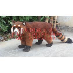 仿真红熊猫图片