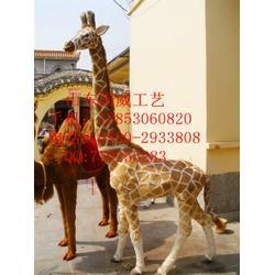 仿真长颈鹿非洲长颈鹿模型图片