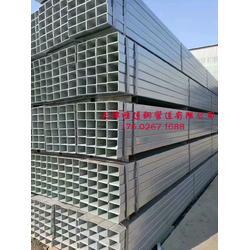镀锌方矩管厂家镀锌方管国标方矩管非标方钢规格图片