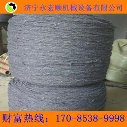 灌桩厂棉绳 电线杆棉绳 包浆封浆棉绳图片