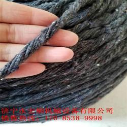 电杆包浆棉绳 电线杆用棉绳 防漏浆必备图片