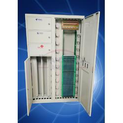 四网合一光纤配线柜432芯落地式安装图片