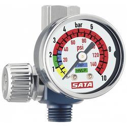 原装德国萨塔喷枪压力表 sata调压表总代直供 质量保证图片