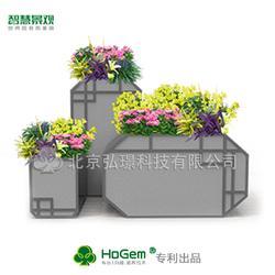 简约组合创意花箱定制玻璃钢花箱市政户外花箱可加印LOGO