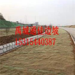 环保草毯 椰丝椰壳纤维 高速公路护坡植草毯 荒山修复图片