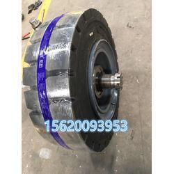 加工定做拖车独轮车轴带转向架尺寸可定专业制作配套实心充气轮胎图片