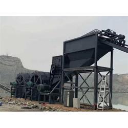 洗砂设备-昌衡机械洗沙机定制-槽式洗砂设备图片
