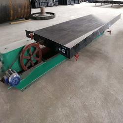 大槽钢玻璃钢5米3摇床废料分离摇床钢渣选矿炉渣水摇床设备图片