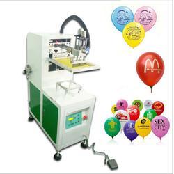 气球丝印机乳胶气球网印机多色气球丝网印刷机图片