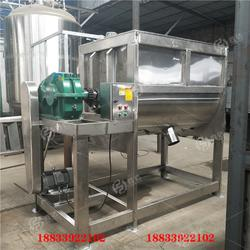 U型槽强制搅拌混料机双螺带不锈钢搅拌机图片