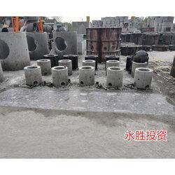 水泥检查井厂家-肥西银宾配送及时-安徽水泥检查井图片