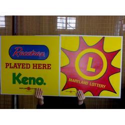 中空板广告牌,展示牌展示架,指示牌图片