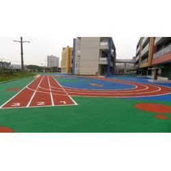 塑胶跑道施工首选硕森体育设施买LOL比赛输赢的软件图片