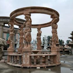 技艺精巧的宁夏曲阳石雕-呼和浩特石材雕刻厂家图片