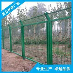 牲畜养殖框架护栏网 带框农场围栏网 绿色围墙边框护栏网定制图片
