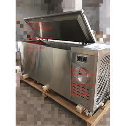 顶开门BL-D600DBW不锈钢防爆冰箱卧式图片