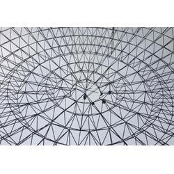 银川网架结构厂家-口碑好的宁夏网架结构公司图片
