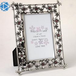 金属镂空镶钻相框定制,金属相框制作,高档礼品摆件生产图片
