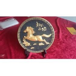 动物�纪念盘,雕刻奖盘,入色纪念盘厂图①片