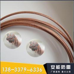 铜包钢绞线建议使用ANFL放热焊 接方式进行连接图片