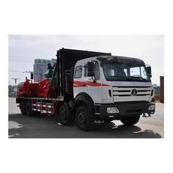 青海锅炉车-大量供应高质量的甘肃压裂车图片