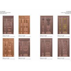 家装铜门-沈阳高销量的豪华铜门图片