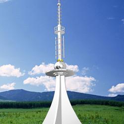 楼顶装饰塔-河北装饰工艺塔设计厂家-楼顶装饰塔生产厂家图片