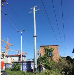 电力钢杆厂家-衡水供应具有口碑的电力钢杆图片