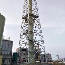烟筒塔架-河北玻璃钢烟囱塔架哪家比较好