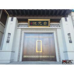 非标超高超大庭院铜门-恒大悦龙台铜门图片